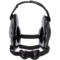 Cliff Keen Fusion Headgear Black Black White front
