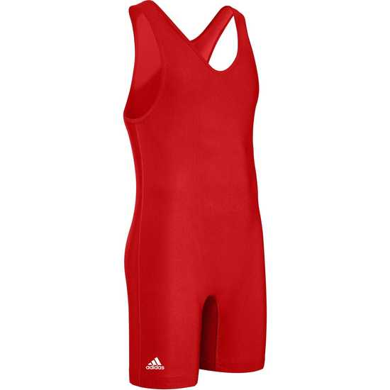 Adidas aS101s Solid Singlet-Red