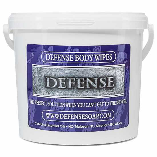 Defense Bucket of Body Wipes-400ct
