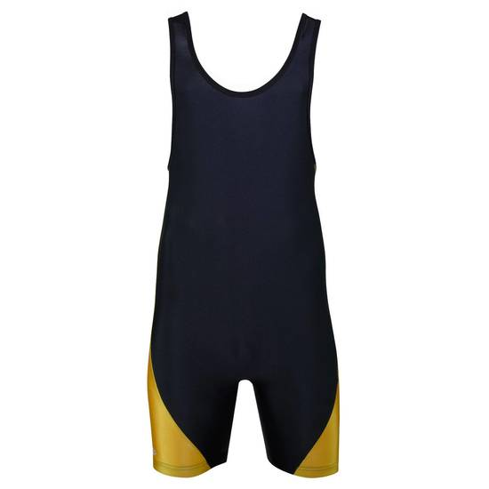 Matman Illinois Singlet Gold