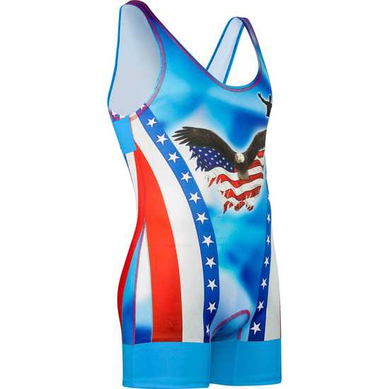 Blue Feather Singlet™