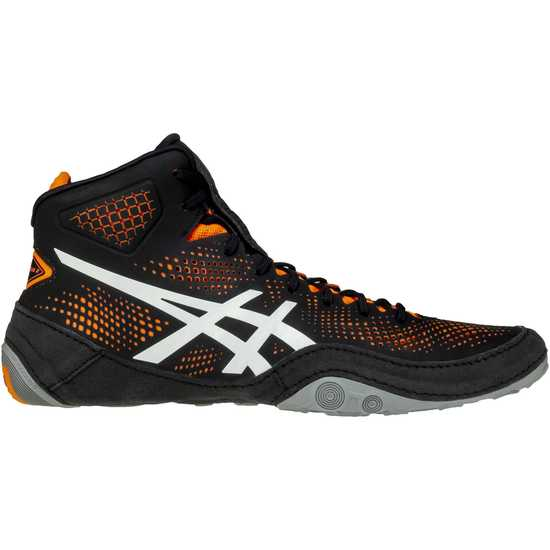 ASICS Dan Gable Evo 2-Black-Orange