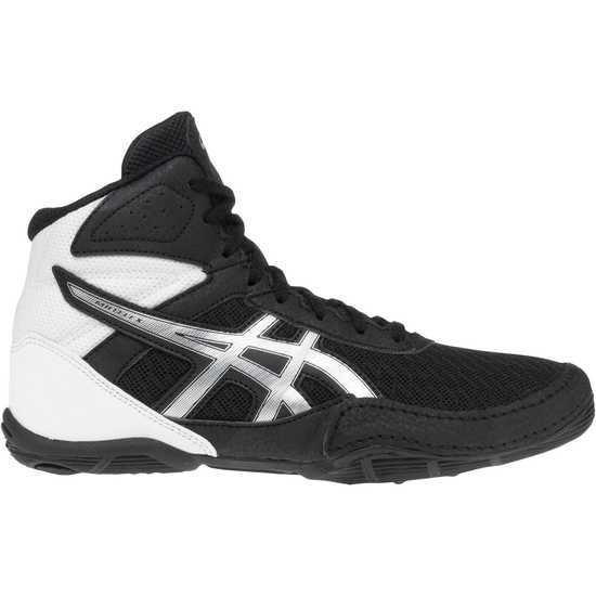 ASICS Matflex 6 GS Youth-Black-Silver