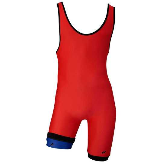 Red ASICS Reversible Singlet