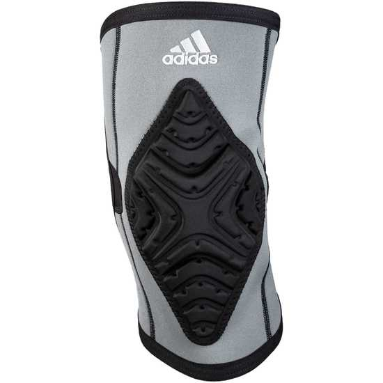 Adidas aK102 Wrestling Kneepad-Grey-Black