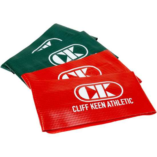 Cliff Keen Ankle Bands-Red/Green