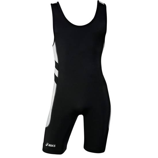 Black Unrestrained ASICS Singlet