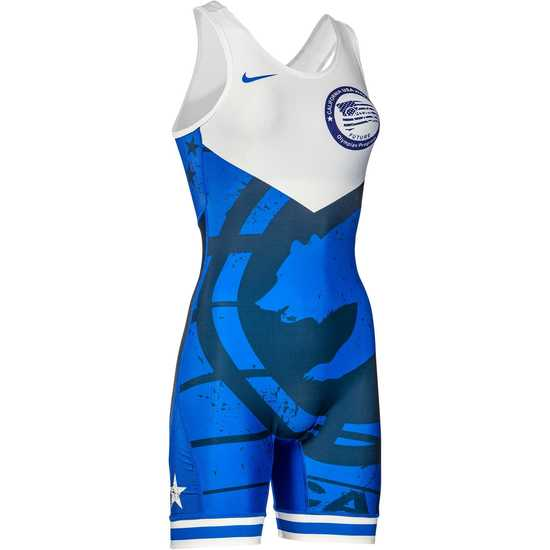CAUSAW 2020 Cali Womens Singlet-Navy-White