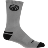 WrestlingMart Performance Sock  grey black main