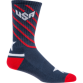 WrestlingMart Performance Sock  navy white red main