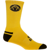 WrestlingMart Performance Sock  yellow black outside