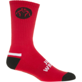 WrestlingMart Varner Performance Sock  red black white outside
