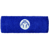 WrestlingMart Headband (Royal Blue,White,Age,Adult) Royal Blue White Blue