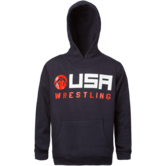 WrestlingMart Youth Icon USA Hoody  navy white red main