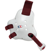 Cliff Keen Fusion Headgear  white maroon main