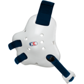 Cliff Keen Fusion Headgear  white navy main