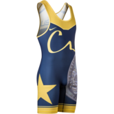 CA USA 2017 Team Mens Singlet  blue gold main