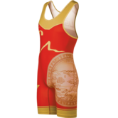 CA USA 2017 Team Mens Singlet  red gold main