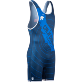 WM CA Republic Quake Singlet  blue white main