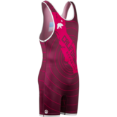 CA Republic Quake Singlet (Red,White,Singlets,S,Matman, Asics & PCS Singlets) Red White main